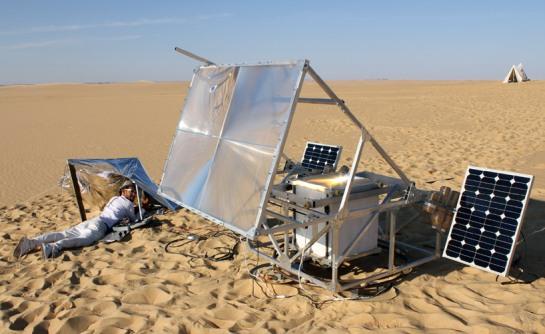 Markus Kayser - Solar Sinter