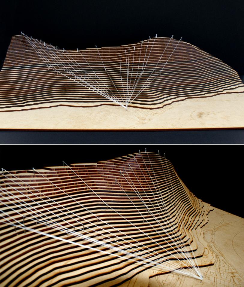 Ray trace model