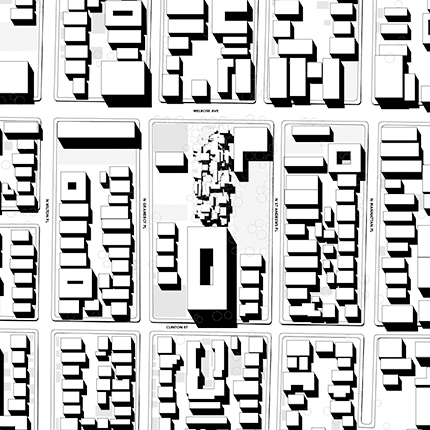 Parametrically Generated Master Plan inspired by the Case Study houses