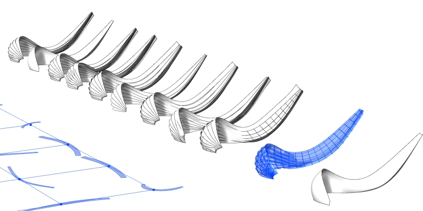 Shipwreck - Looking at different Versions with Parametric model