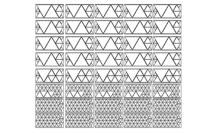 Current Laser cut Profiles for Fractal Cult