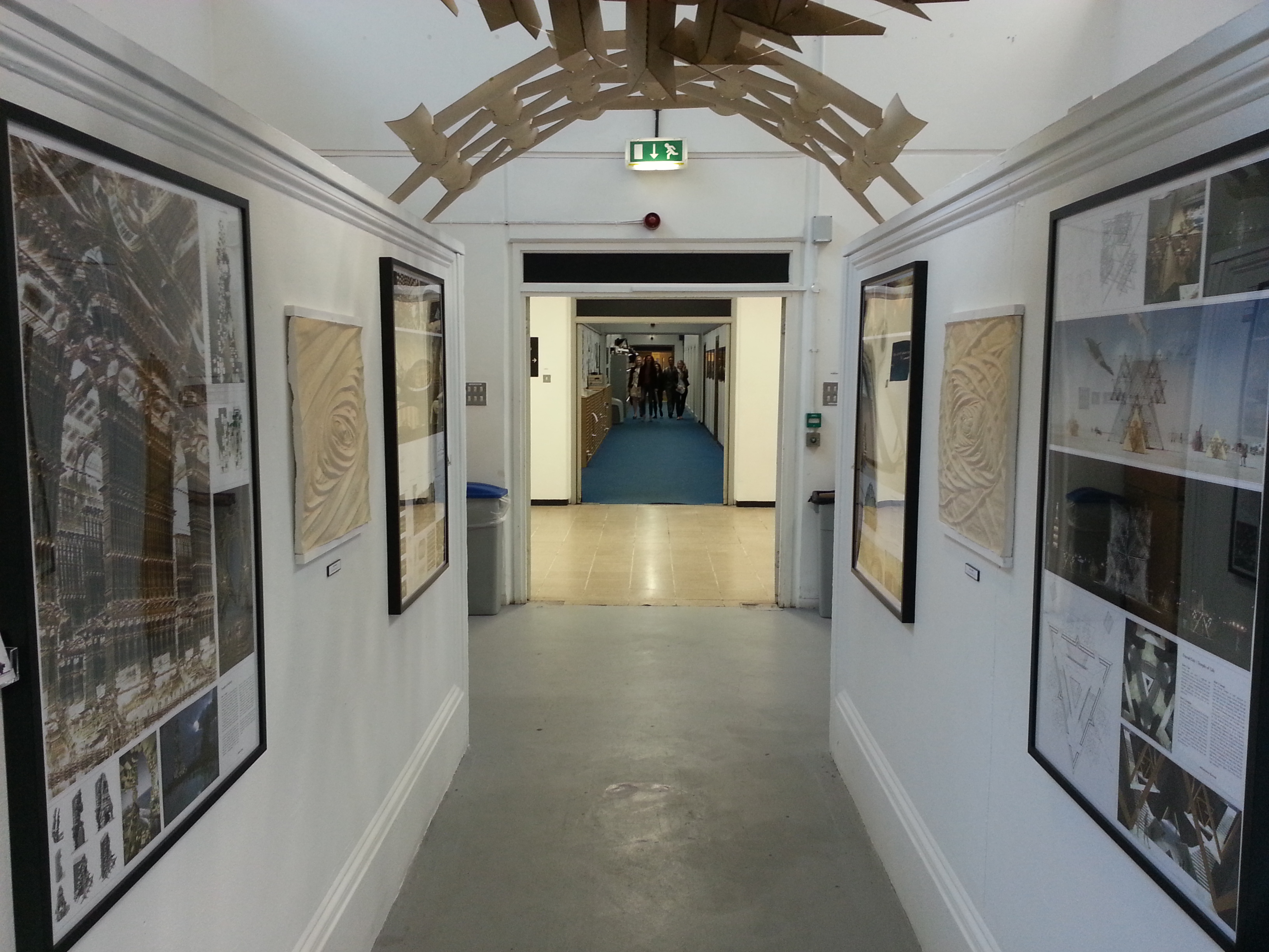Entrance of Exhibition - Andrei Jippa's Fractall