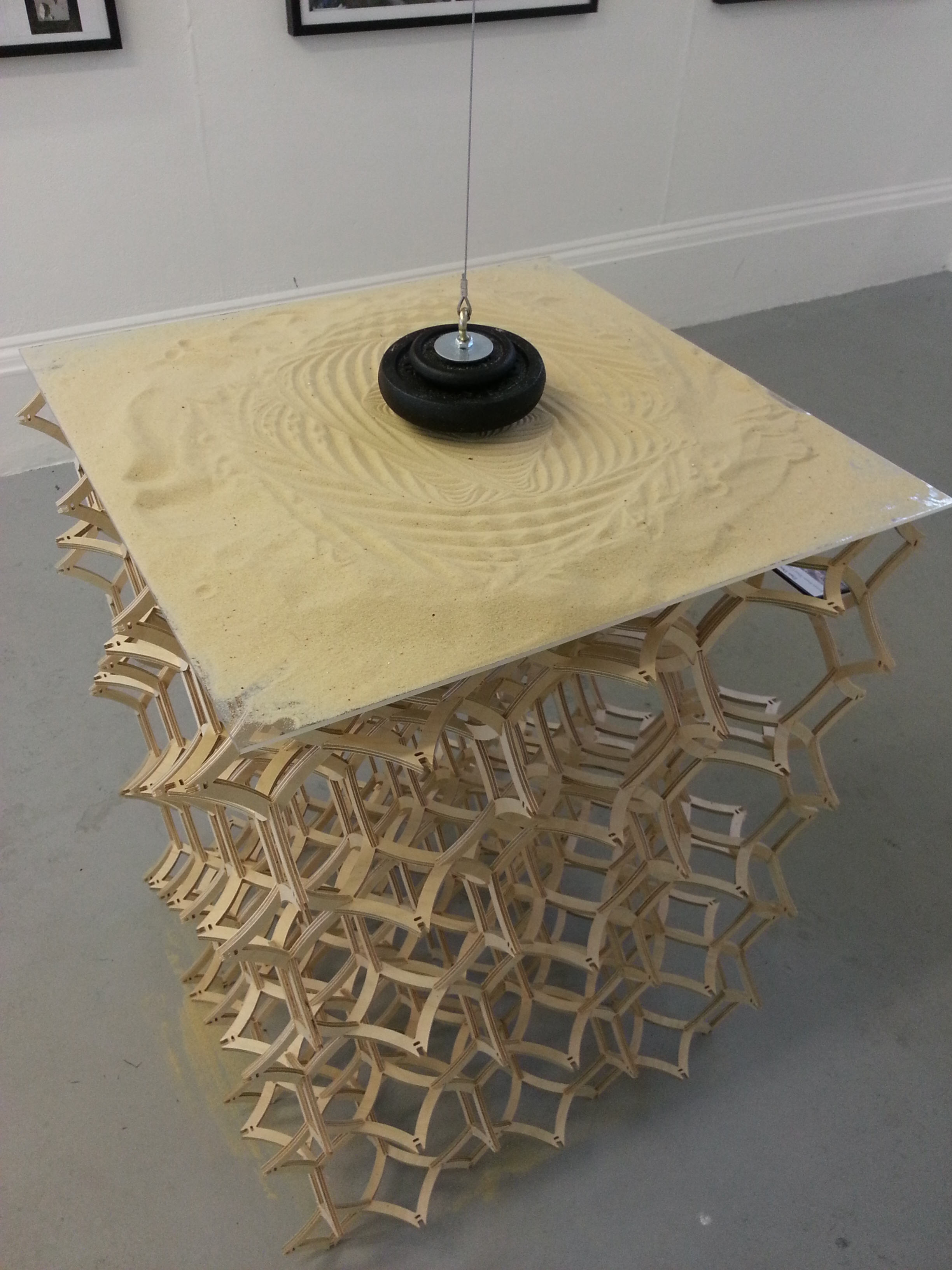 Dan Dodds Pendulum on CNC milled table