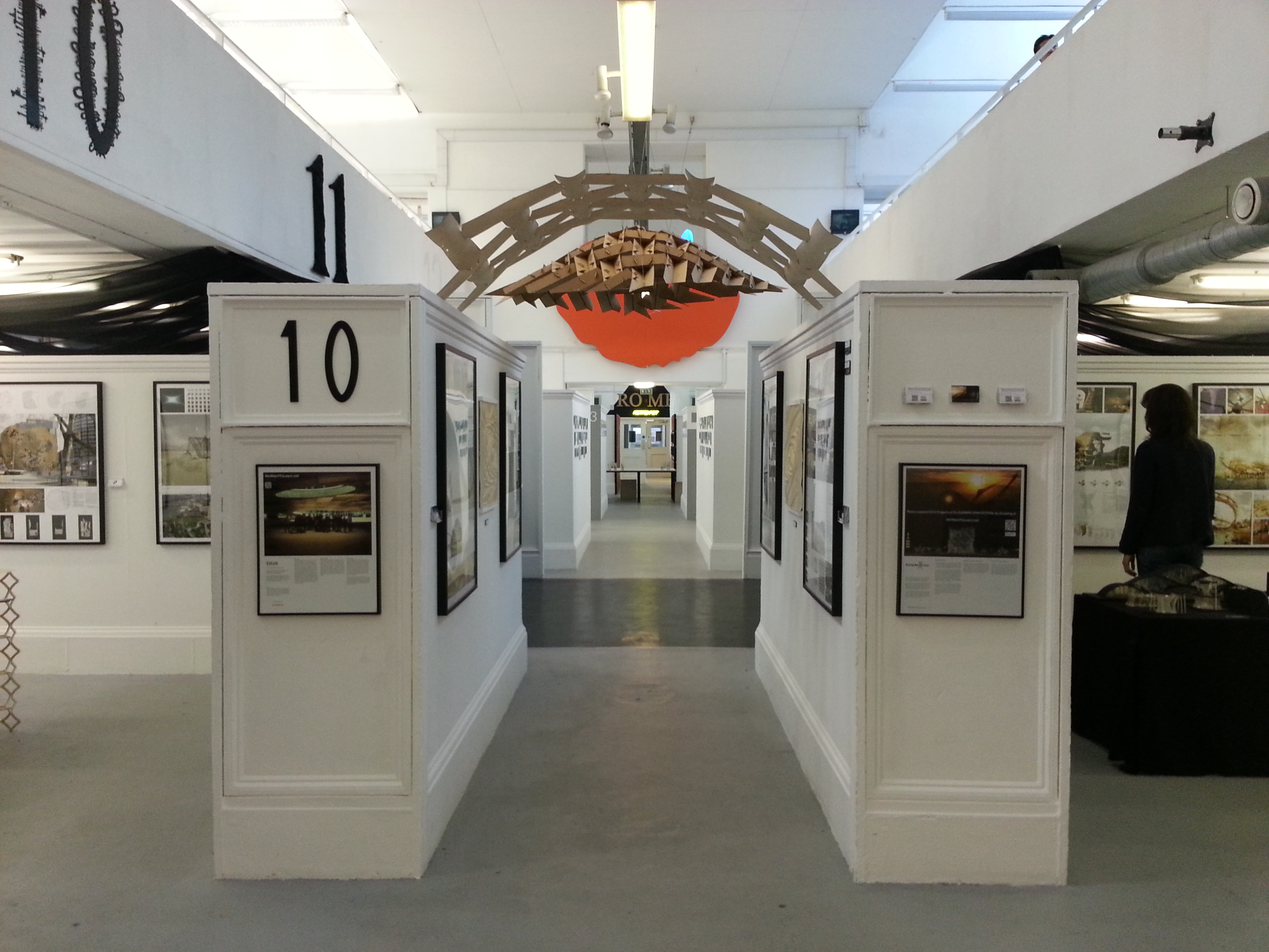 Entrance of Exhibition - Michael Clarke's WikiVaults