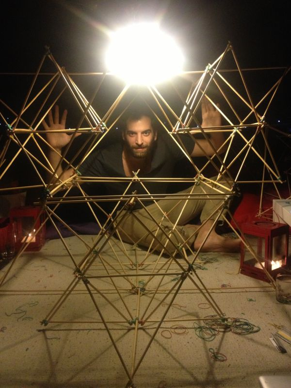 Fractal Cult scaffolding test model