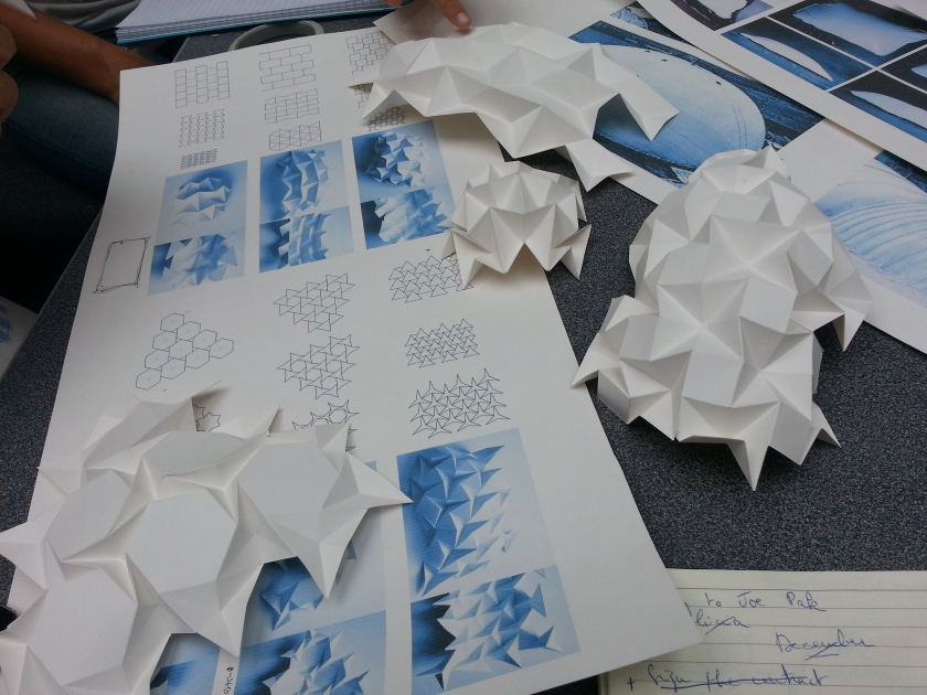 Origami Folding from Sarah Shuttleworth