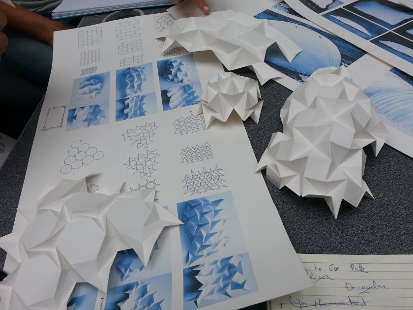 Origami Folding from Sarah Shuttleworth