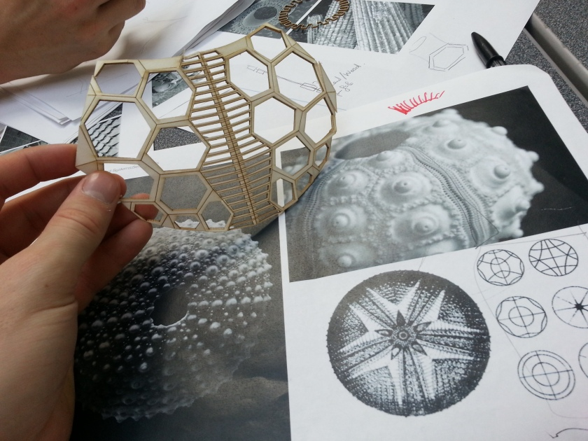 Henry Turner's laser cut See Urchin Skin