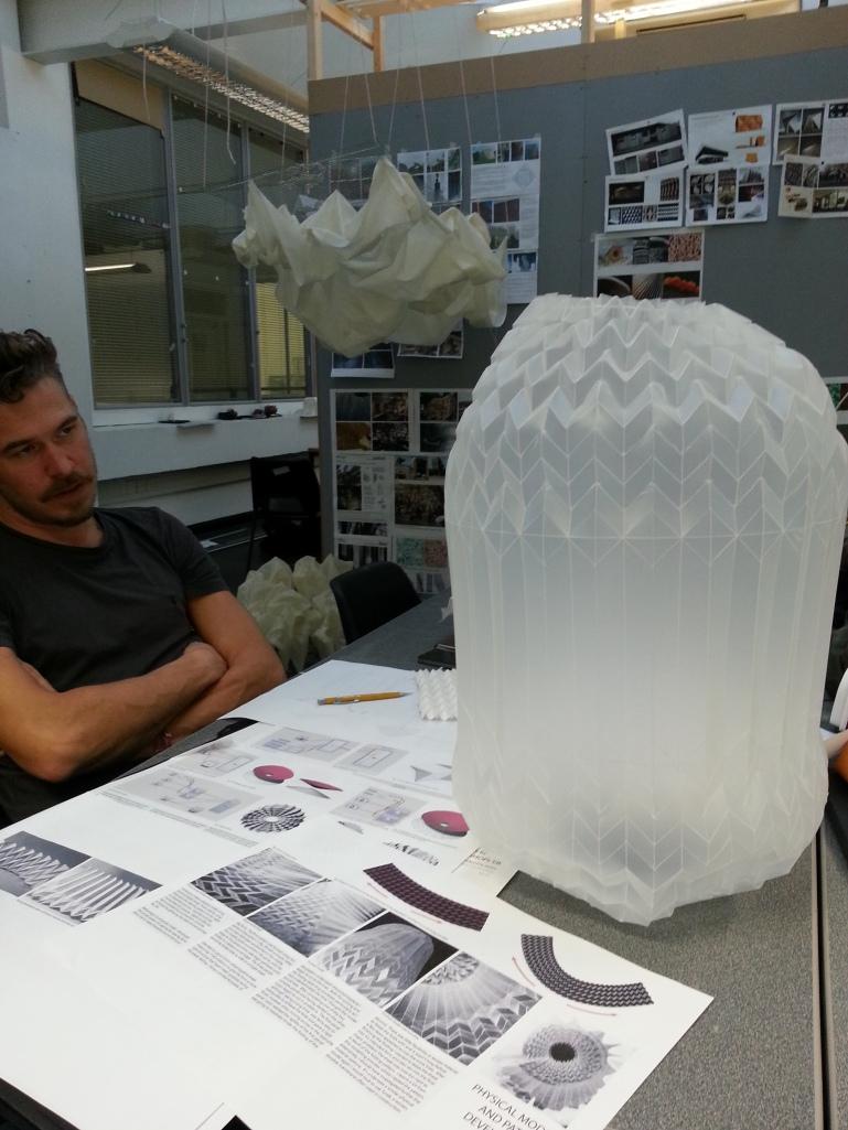 Charloote Yates' Muira Ori Pattern Origami