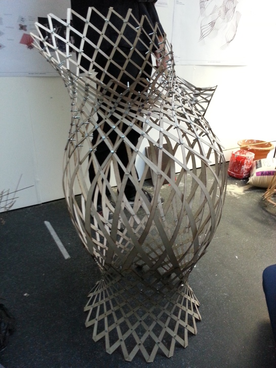 John Harding's woven lattice