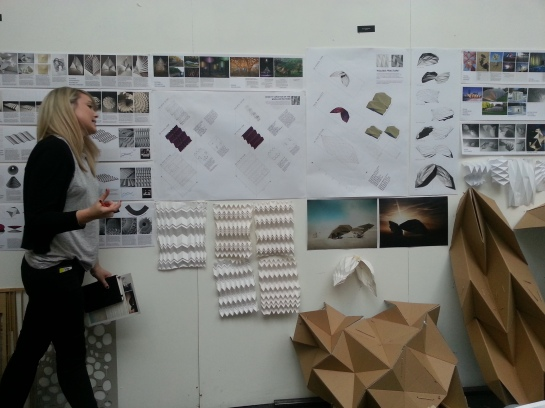 Charlotte Yates' Origami Roofs
