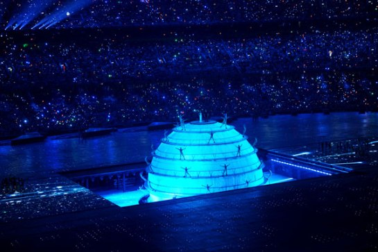 THE BEIJING OLYMPICS 2008 OPENING CEREMONY  THE DREAM SPHERE