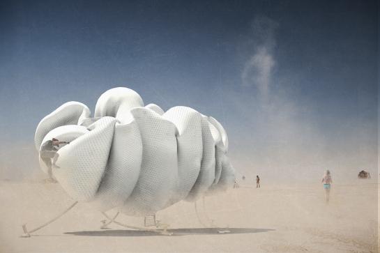 The Cloud at Burning Man