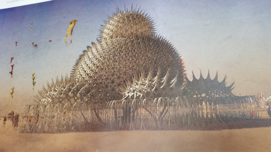 Joe Leach's Burning Seed Temple for Burning Man