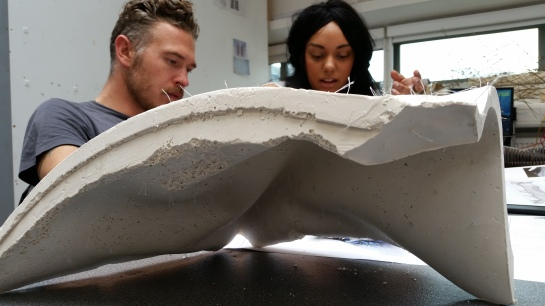 Lorna Jackson Dali Museum Latex Concrete Casting