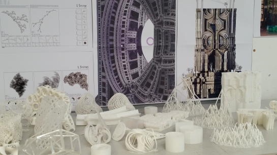 Andrei Jippa's 3D printed fractal city