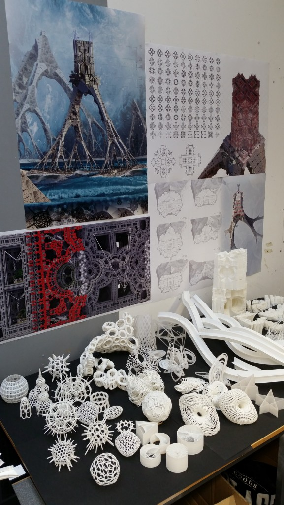Andrei Jipa's incredible 3D printed collection
