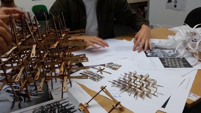 Joe Leach's 3D Reciprocal Structures
