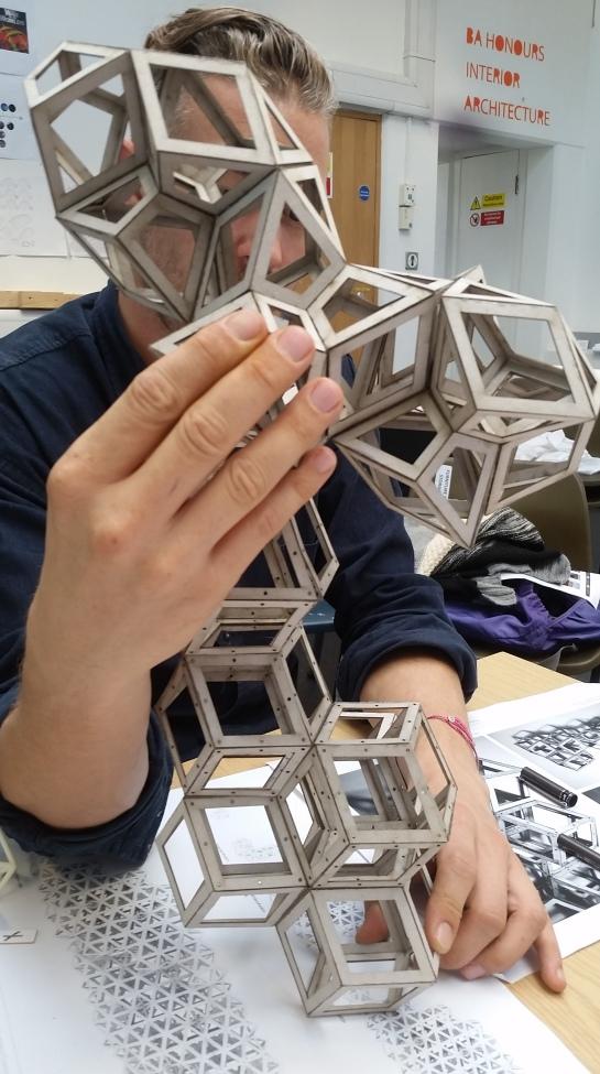 Sarah Stell's  Pyritohedrons