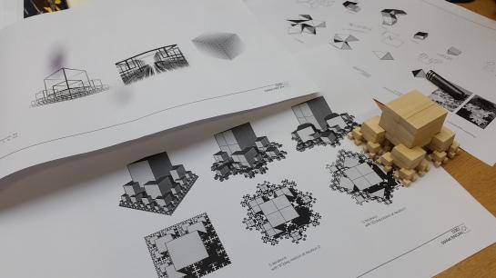 Recursive cube growth by Diana Raican