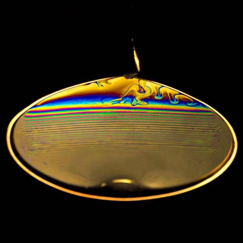 Thin Film Interference Pattern