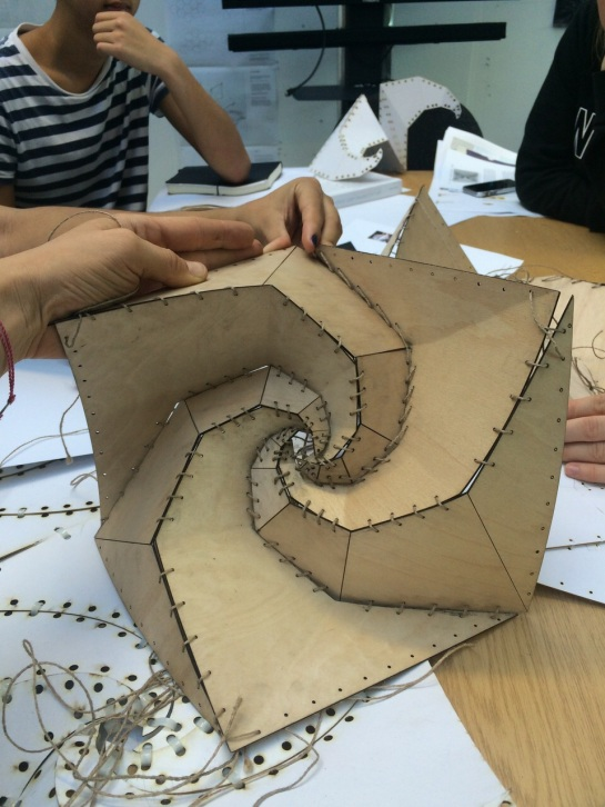 Lorna Jackson's Spiralhedron