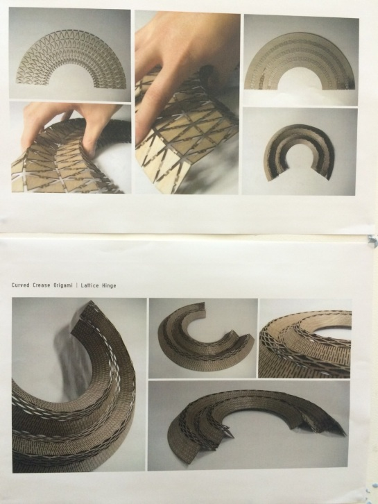 Curved Kerf Folding by Garius Iu