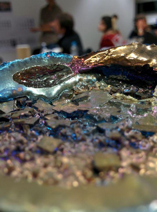 Jonathan Leung creating his own Bismuth Crystals