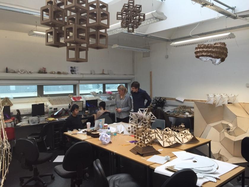 DS10 WeWanttoLearn's  buzzing Studio Space