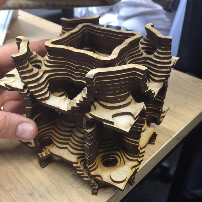 Toby Plunket's 3D Cymatic