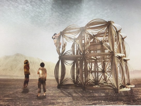 Joe Leach's early proposal for Burning Man
