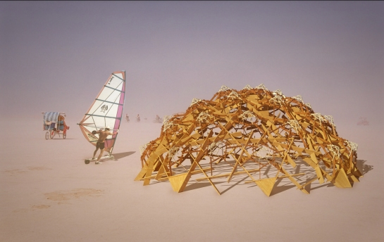 Burning Man eye level 3