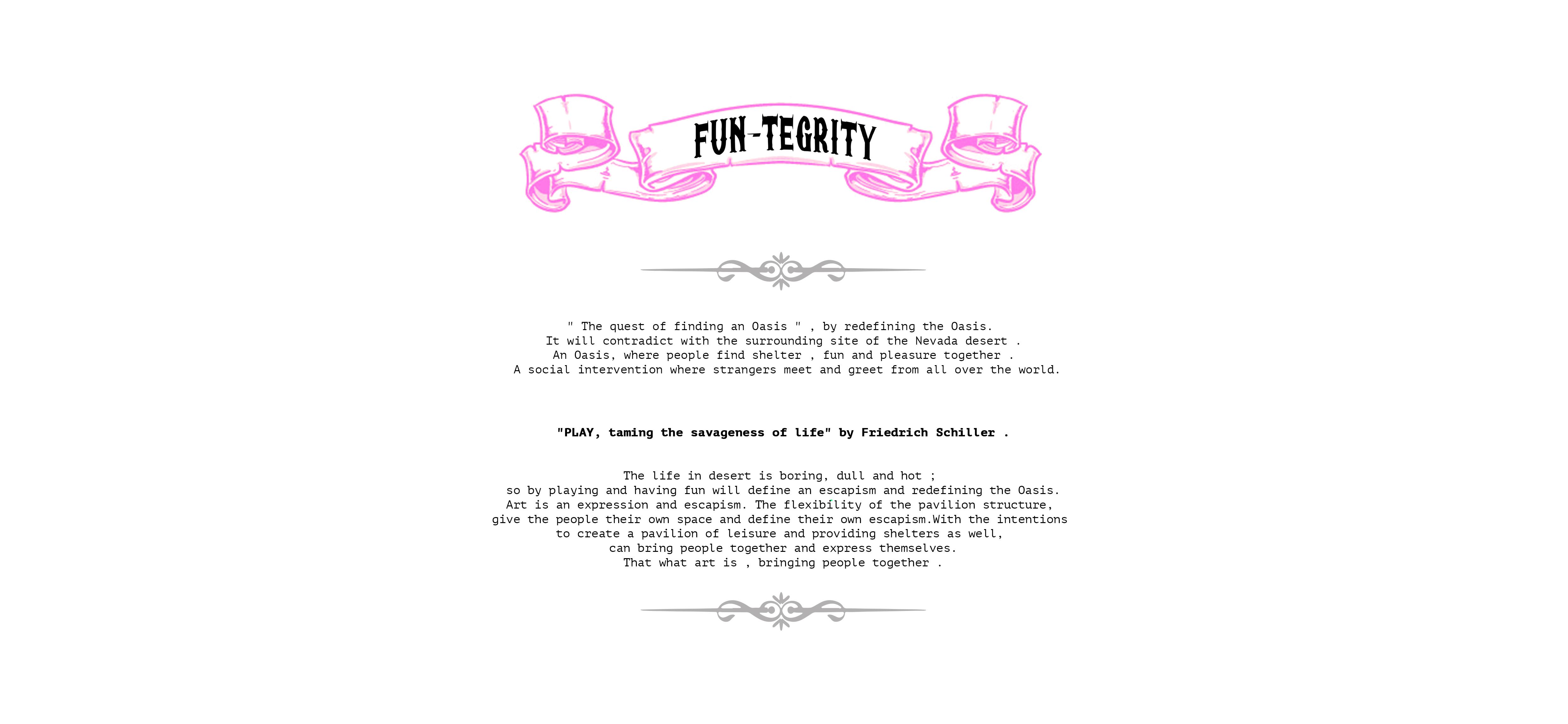FUN-tegrity