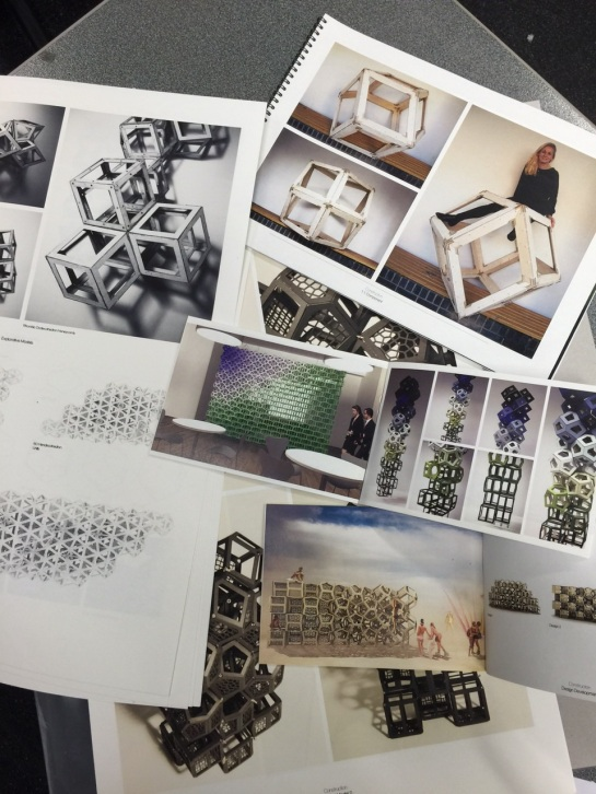 Sarah Stell's Inhabitable Geometric Transitions