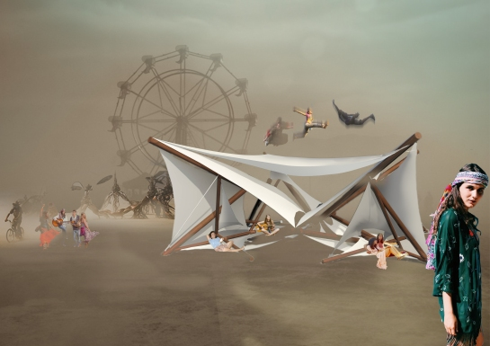 PERSPECTIVE BARU BURNING MAN