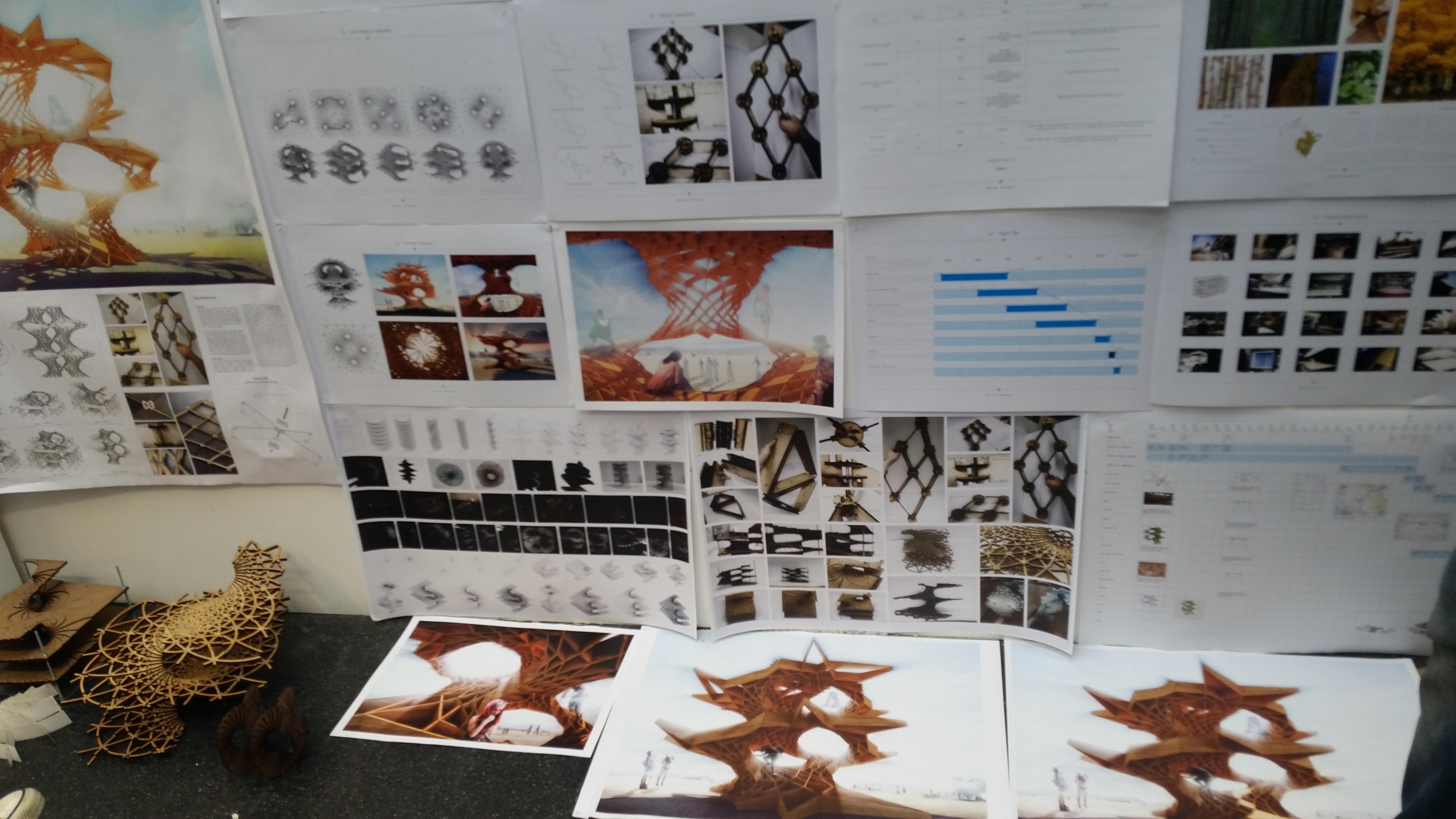 Tobias Power's Infinity Tree for Burning Man development