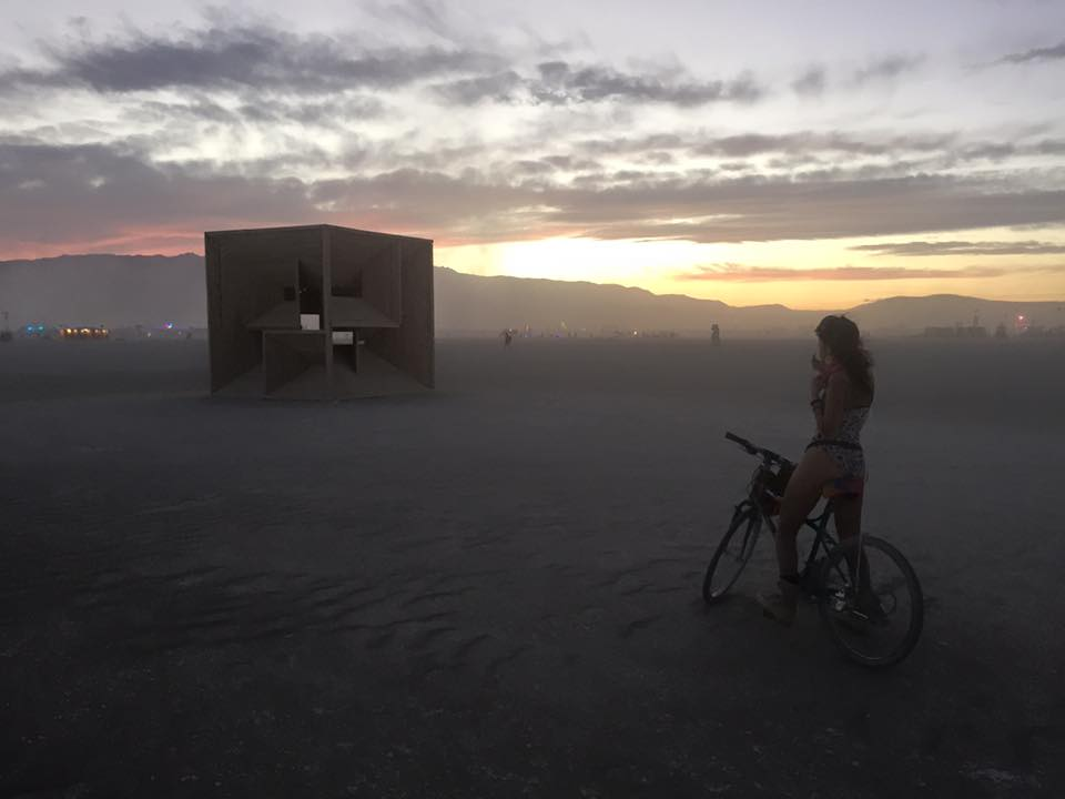 The Bismuth Bivouac Burning Man