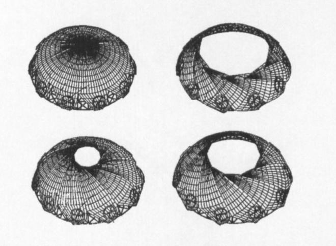 Patent of retractable dome