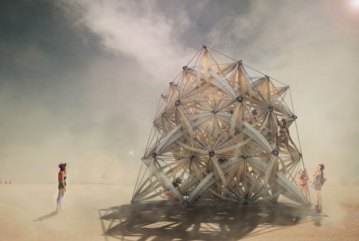 'Entwine' – Submission for Burning Man 2016