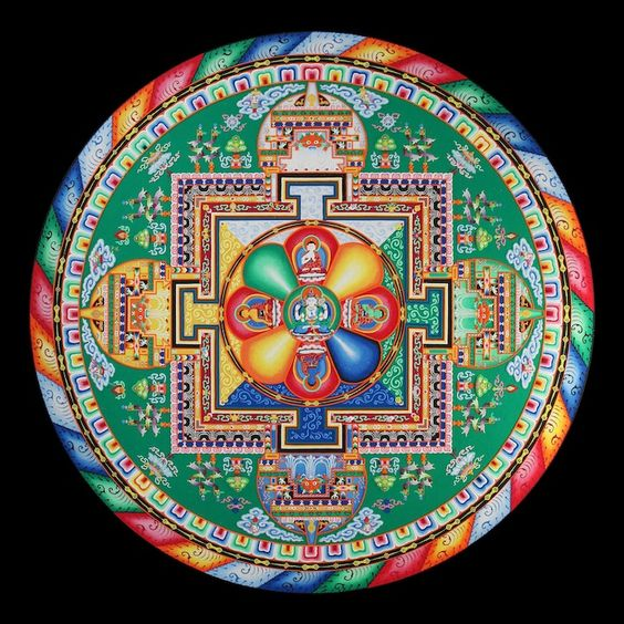 Traditional Mandala example