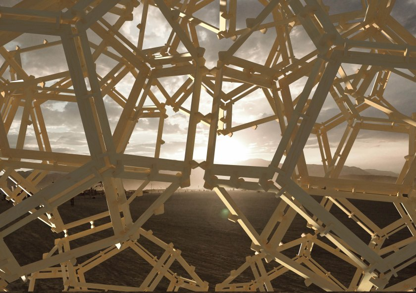 Burning Man Render 2