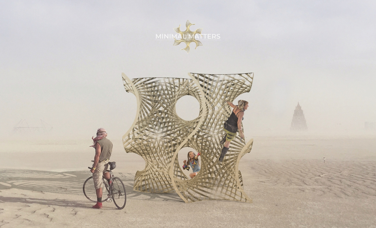 Minimal Matters: Burning Man Proposal